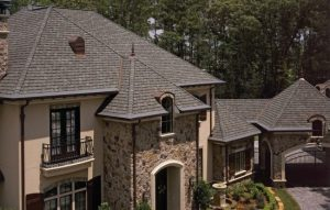 gatehouse slate shingles on roof